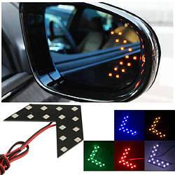 Зеркальные элементы с LED (2 шт)