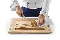 Доска разделочная для хлеба, деревянная, 475x322 мм