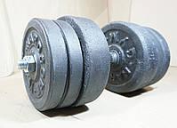 Гантелі 21 кг х2 (25 мм), фото 3