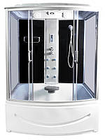Гидробокс КТ 150x85x215 прозрачное стекло, глубокий поддон, А0045339