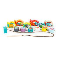 Шнуровка Рыбки-силянки CUBIKA, развивающая игрушка