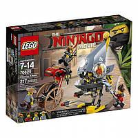 КОНСТРУКТОР LEGO Ninjago 70629 Атака пираний