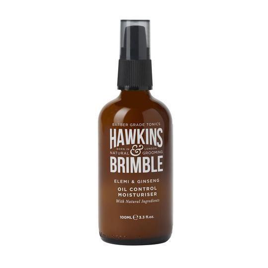 Мужской крем для лица матирующий 100 мл  Hawkins & Brimble Oil Control Mousturiser