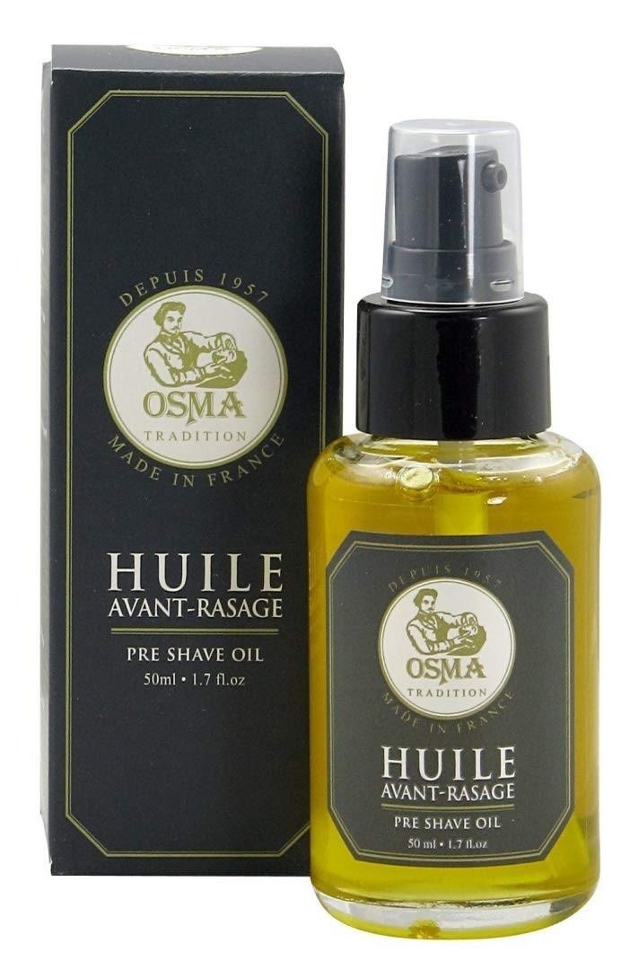 Натуральное масло перед бритьем 50 мл,Pre Shave Oil Osma Tradition