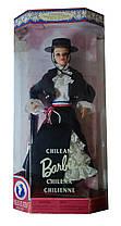 Коллекционная кукла Барби Чили Куклы Мира Barbie Chilean Dolls of the World Collection 1998 Mattel 18559