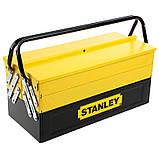 """Ящик STANLEY 1-94-738 """"EXPERT CANTILEVER"""" с пятью раскладными секциями, металлический, 450 х 208 х 208 мм., фото 4"""