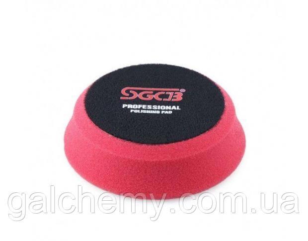 Полірувальний круг м'який червоний 75x100 мм SGGA052, SGCB