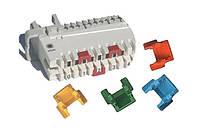 Маркировочный колпачок на 1 пару для плинтов LSA-PLUS/PROFIL, красный, 6089 3 006-00 (6089 2 306-00)