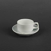 Набір чайний 2 предмета: чашка 80 мл + блюдце