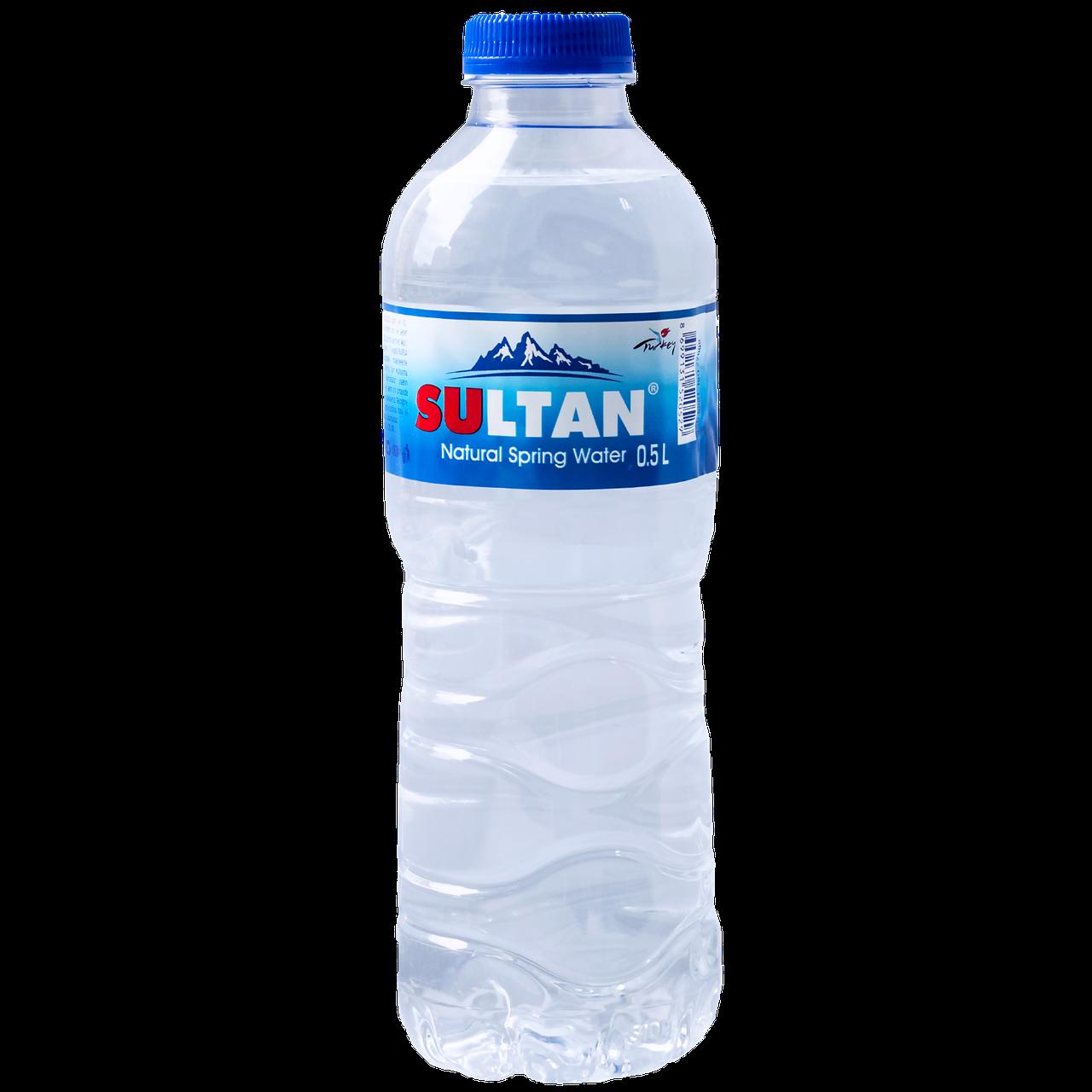 """Вода природная родниковая """"Sultan""""негаз 0.5 л, пэт (уп/12 бут.)"""