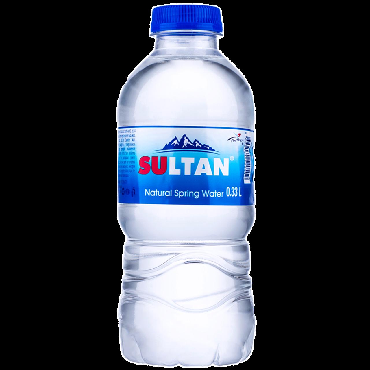 """Вода природная родниковая """"Sultan"""" негаз, 0.33 л, пэт (уп/12 бут.)"""