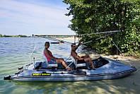 Катамаран пвх SMART FISHER 440 з педальним приводом