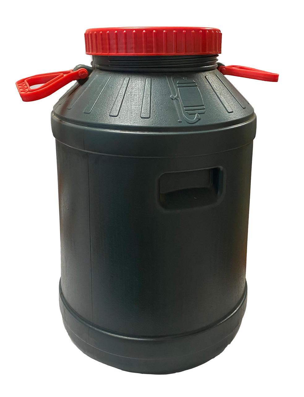 Бидон пластиковый пищевой, 80л,  АКЦІЙНИЙ, Од
