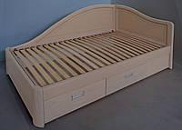 """Кровать в Чернигове деревянная полуторная с ящиками """"Анна"""" kr.an5.1, фото 1"""