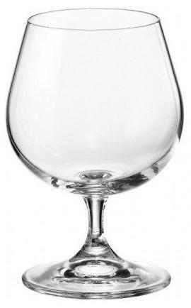 Набор бокалов для коньяка 400 мл 6 шт Sylvia Klara Bohemia 4S415/400