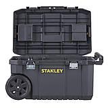 "Ящик STANLEY STST1-80150 ""ESSENTIAL  CHEST"", 665x404x344 мм, объем 50 л, пластиковый, колеса., фото 3"