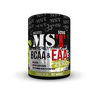 Аминокислоты MST BCAA&EAA Zero 520 гр. (40 порций) Мохито | 8 незаменимых аминокислот | Без красителей |