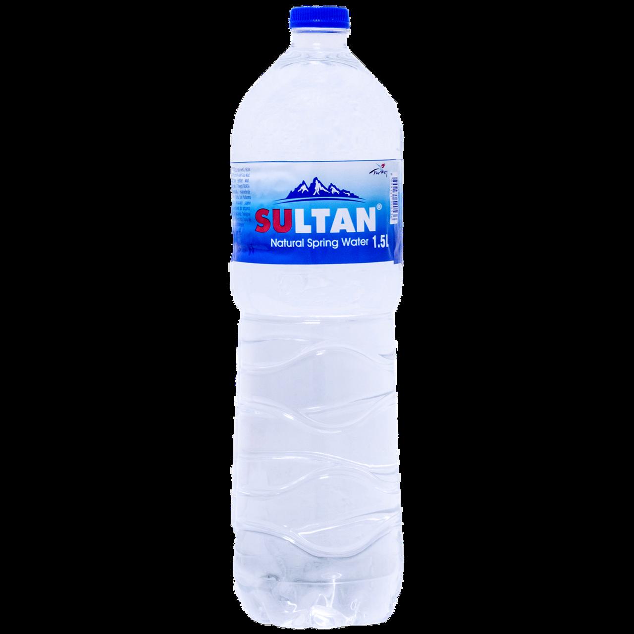 """Вода природная родниковая """"Sultan"""" негаз 1.5 л, пэт (уп/6 бут.)"""