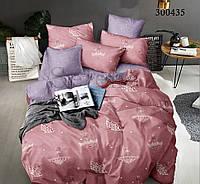 Комплект постельного белья Парад Зонтиков сатин (Двуспальный)