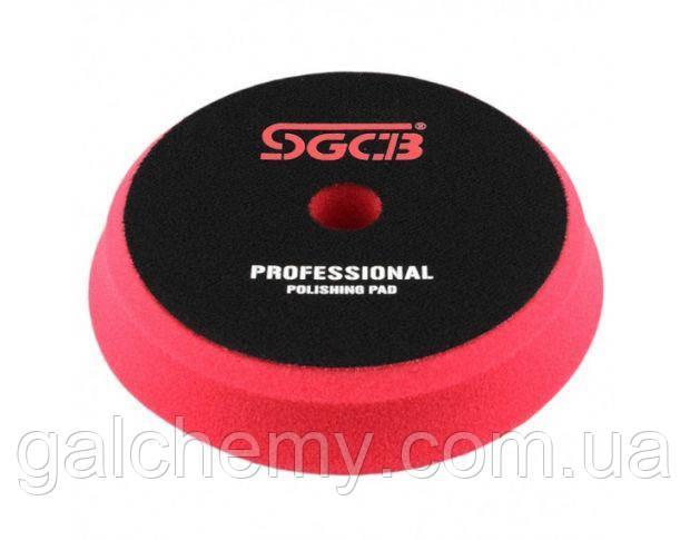 Полірувальний круг м'який червоний 125x150 мм SGGA053, SGCB