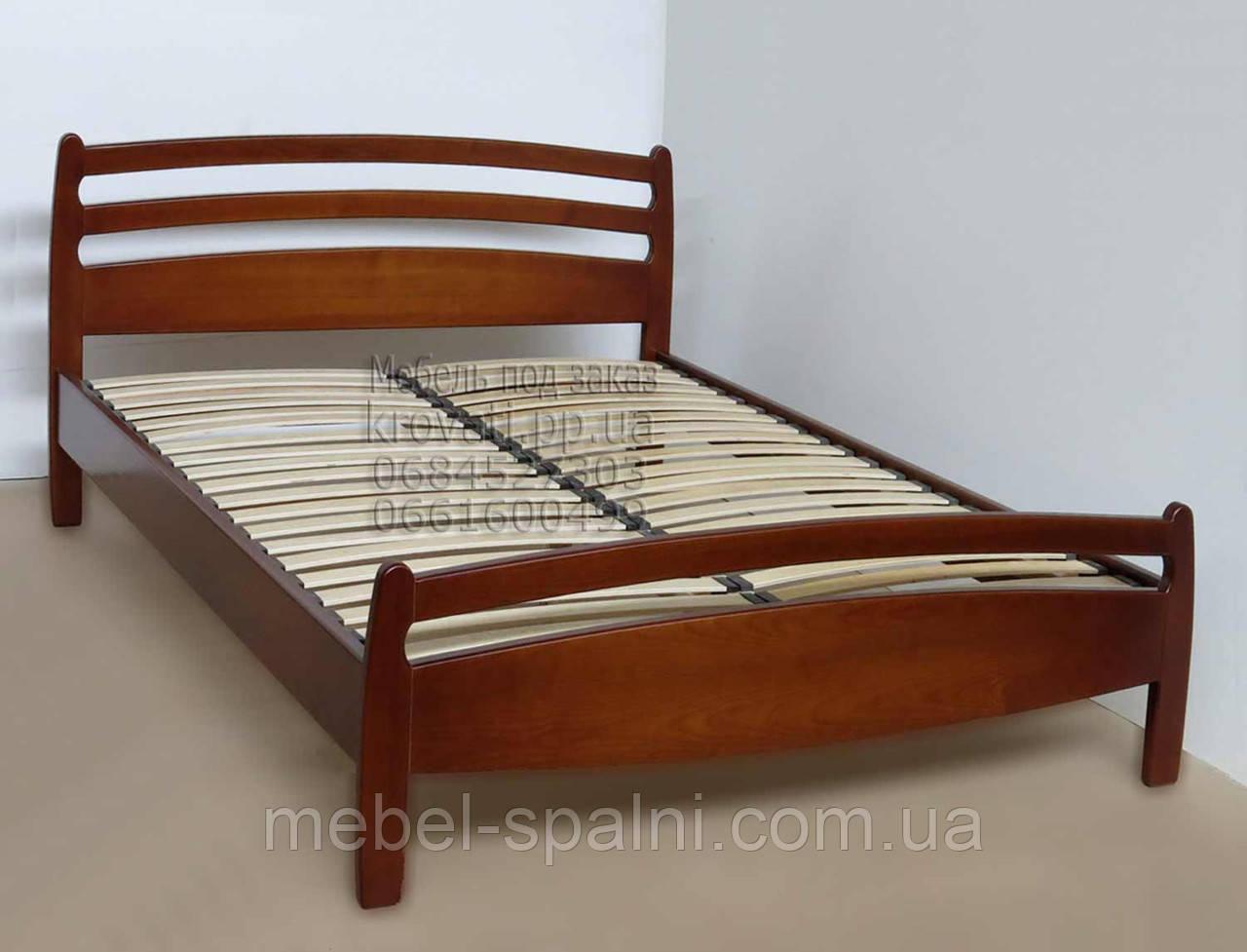 """Кровать в Белой Церкви деревянная односпальная """"Елена"""" kr.el1.1"""