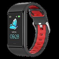 Smart фитнес-часы Bracelet B88,Red с пульсомером, шагомером Под iOs и Android