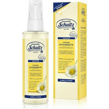 Лосьон для волос осветляющий спрей Schultz 150 мл , Chamomille Brightening Lotion Spray