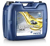 Масло моторное полусинтетическое Neste Premium + 10W40 (API SN/CF), 20л