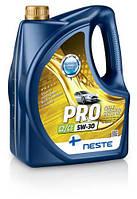 Масло моторное синтетическое Neste Pro 5W30 C2/C3 (API SN, SM/CF), 4л