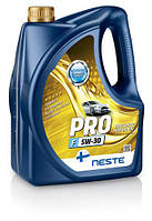 Масло моторное синтетическое Neste Pro F 5W30 (ACEA A5/B5, API SL), 4л