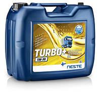 Масло моторное синтетическое Neste Turbo + 5W30, 17кг