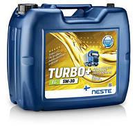 Масло моторное синтетическое Neste Turbo + E6 5W30, 17кг