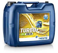 Масло моторное синтетическое Neste Turbo + E6 10W40, 17кг