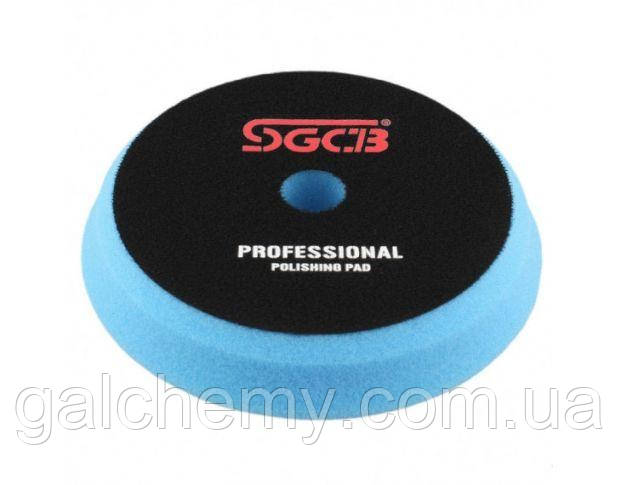 Круг полірувальний напівтвердий синій 125x150 mm SGGA050, SGCB