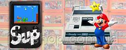 Портативная приставка с джойстиком Retro FC Game Box Sup dendy 400 in 1 консоль Black, фото 2