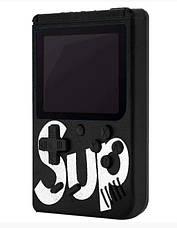 Портативная приставка с джойстиком Retro FC Game Box Sup dendy 400 in 1 консоль Black, фото 3
