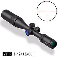 Приціл оптичний VT-R 3-12X42 AOE - DISCOVERY