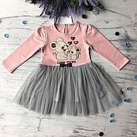 Пышное платье на девочку Breeze 181 . Размер 86 см, 92 см, 98 см, 104 см, фото 1