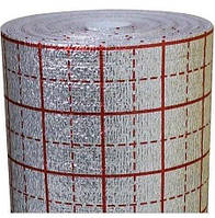 Полиизол фольгированный с разметкой для теплого пола 3мм, 1х50м TEPLOIZOL