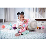Мягкая Музыкальная Кукла Baby born Goodnight Lullaby Baby Девочка с карими глазами, фото 2