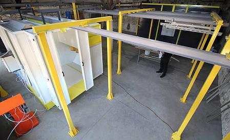 Ручная линия-2 окраски ONYX изделий L≤1,4м, фото 2