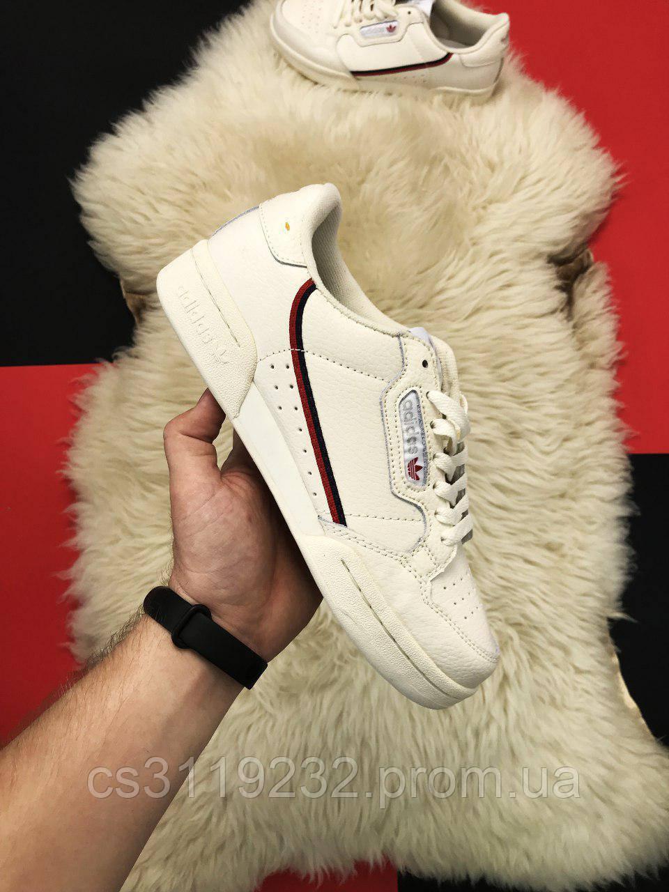 Мужские кроссовки Adidas Originals Continental 80 Cream