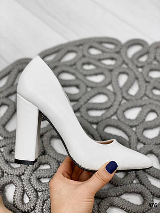 Белые туфли классика, фото 2