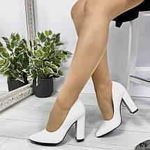 Белые туфли классика, фото 3