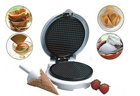 Вафельница для тонких вафель и трубочек Livstar LSU1218 Вафельница с конусом для мороженого