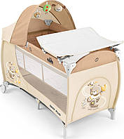 Манеж-кроватка DAILY PLUS, цвет бежевый L113/240