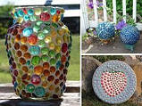 Камни для декора круглые плоские большие цветные 3,5х0,7 см, фото 4
