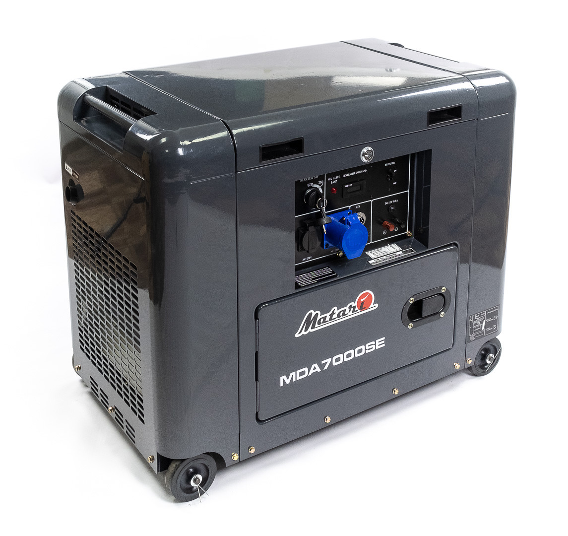 Генератор дизельний Matari MDA7000SE-ATS (5кВт)