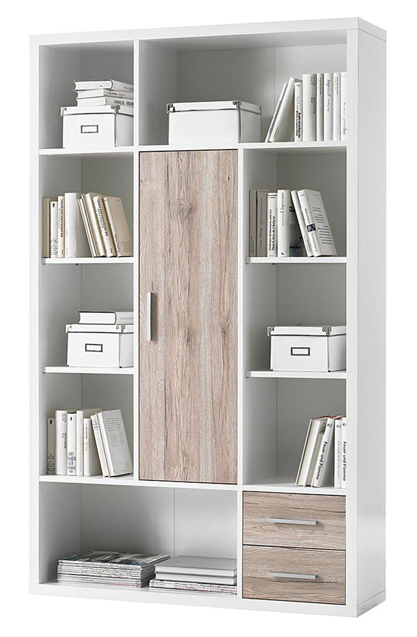 Книжный шкаф из массива дерева 020