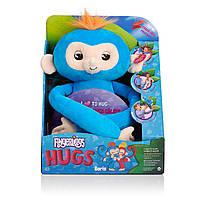 WowWee Fingerlings Мягкая интерактивная обезьянка-обнимашка Борис, фото 1